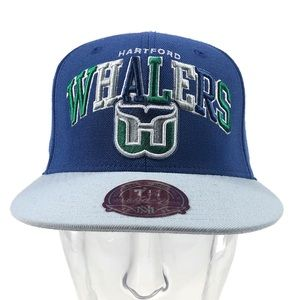 Hartford Whalers Mitchell & Ness Fitted Hat 7 1/8